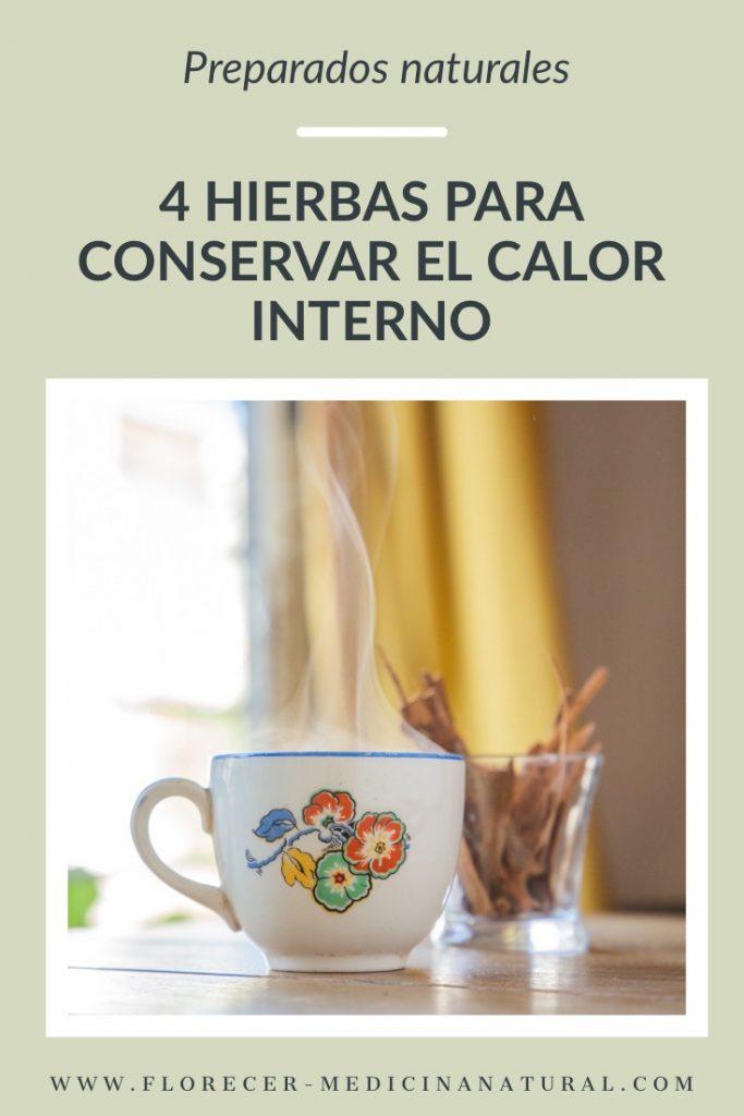 4 hierbas para conservar el calor interno